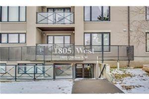 #101 1805 26 AV SW, Calgary