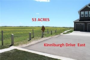 53 ACRES RANGE ROAD 281, SOUTH OF HIGHWAY 1  , Chestermere