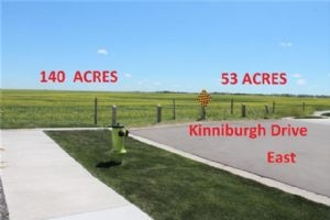 140 ACRES RANGE ROAD 281, SOUTH OF HIGHWAY 1  , Chestermere